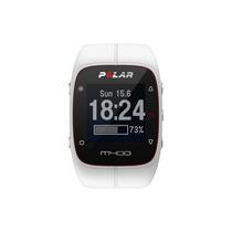 Polar - Gps Del Reloj M400 Con El Ritmo Cardíaco - Blanco