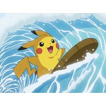 Pokémon Pikachu Surf Jp + Diancie Ou Jirachi Shiny Via Wi Fi