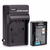Bateria Np-fh50 + Carregador Para Sony Dsc-hx100 Dsc-hx100v