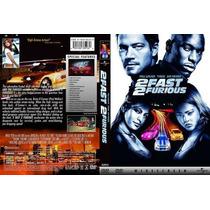 Dvd 2 Fast 2 Furious + Mas Rapido + Mas Furioso Paul Walker