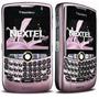 Blackberry Nextel I8350 Color Rosada Lila Fuxia Nueva Caja