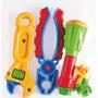 Kit Ferramentas Mecânico 7pçs Ref.460 - Calesita Brinquedos
