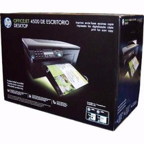 Impresora Multifuncional Hp Officejet 4500 Cm753a