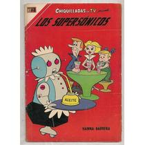 Comic Chiquilladas Los Supersónicos Novaro 1967