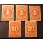 Set De Estampillas De Multa Chile