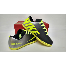 Tênis Chuteira Infantil Futsal Mercurial Da Nike*costurado