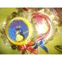 Invitaciones En Chupetas De Colores, Baby Shower Originales