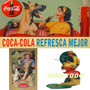 Afiches Coca-cola Retros P/enmarcar 27x43 Cm. Graf. Digital