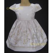 Vestido De Festa Para Criança Com Casaquinho / Bolero