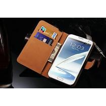Funda Case Piel Samsung Galaxy Note 2 N7100 Envio Gratis!