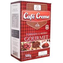 Café Creme Goumet 100% Arabica Torrado E Moido 500gramas