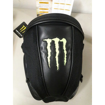 Bolsa Mala Baú Motos Esportivas Banco Do Garupa Monster