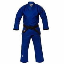 Fuji Sports Single Weave Azul Y Blanco Gi Bjj Judo Jiu Jitsu