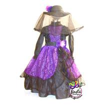 Disfraz Catrina Vestido Muertos Calavera Mujer Dama Adulto