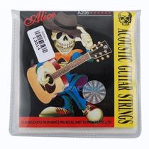 Set De Cuerdas Para Guitarra Electro Acustica Alice A206