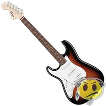 Guitarra Strato Fender Squier Affinity Canhota Kadu Som