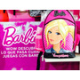 Bello Bolso Y Maletas De Barbie 100% Original