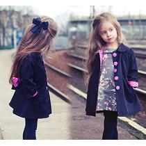 Gabardinas Abrigos De Moda Para Niñas Tallas 5 A 10 $399
