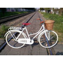 Bicicleta Inglesa Canasto Mimbre, Farol, Asiento Retro