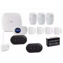 Kit Central Alarme Monitorada Intelbras Amt2018 Eg Intelbras