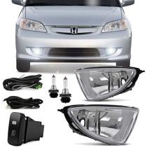 Kit Farol De Milha Honda Civic 2004 2005 Bt Modelo Original