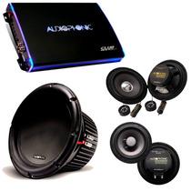 Kit Pro Audiophonic C/ Club 800.4 + C1-12d2 + Cs650 + Ks6.1