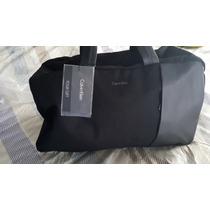 «o.luxuss» Maleta De Viaje Calvin Klein Ck Original Nueva