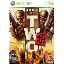 Jogo Novo Lacado Army Of Two : The 40th Day Xbox 360