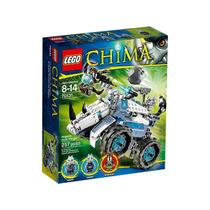 70131 Lego Chima - Arremessador De Pedras De Rogon 257 Peças