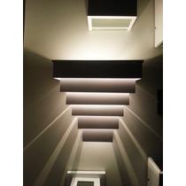 Arandela Efeito Luminoso Uso Externo Interno Com Super Led