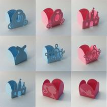 25 Forminhas Princesa Castelo Coroa Carruagem Sapatinho