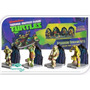 Kit 4 Enfeites Tartarugas Ninjas Tmnt22 Ornamento Aquário