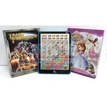 Tablet Infantíl Transformers Princesas Sofía Educ Piano Vol.