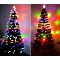 Arvore De Natal Led Pinheiro Fibra Optica - 1,50 De Altura