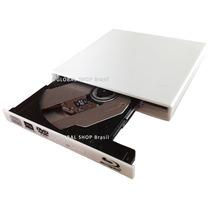 Gravadora Blu-ray 3d Usb 3.0 Cd Dvd Externo Branca Panasonic