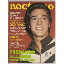 Revista Nocturno Fernando Allende 1975