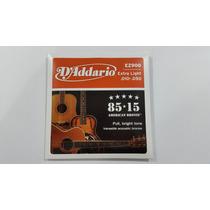 Cuerdas Para Guitarra Acustica Daddario Ez-900,.010