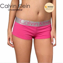 Calcinha Short Feminino Calvin Klein Kit 3 Pçs Envio 24 Hs