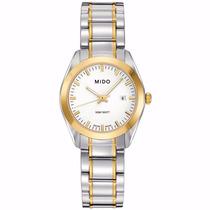 Reloj Mido Para Dama Bicolor Mod. M0122102201100