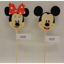 Mickey Y Minnie Souvenirs En Goma Eva