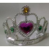 12 Hermosas Coronas Plasticas De Princesas Para Evento