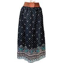 Kit Saia Longa E Vestido Curto Indiano