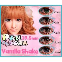 Pupilentes Big Eyes Pandora Vanilla Shake 365 Dias De Uso!