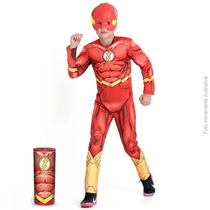 Fantasia The Flash Premium Com Peitoral Sulamericana