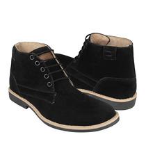 Clasmen Zapatos Caballero Botas 9-900 Suede Negro