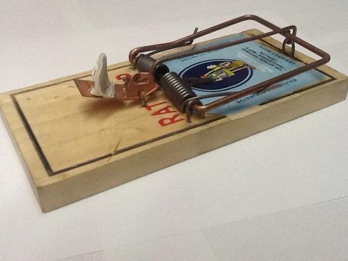 Ratoneras Trampa Incluye 3 Cebos,sirve Para Ratas Y Ratones ...