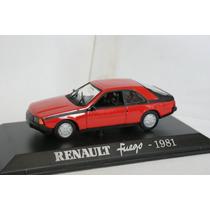 Renault Fuego 1981 Coleccion Norev Escala 1/43