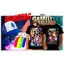 Remeras Y Gorras Gravity Falls, Estampas Full Color, Únicas!