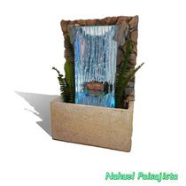 Fuentes Y Muros De Agua - Diseños Únicos Y Personalizados
