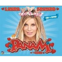 Laura Franco Panam Y Circo Cd + Dvd